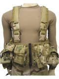 LBT-1961A-R Load Bearing Chest Vest w/ Zipper